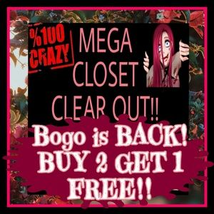 BOGO IS BACK BABY!! BUY2 GET1 FREE